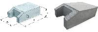 Блок упора бетонный Б9