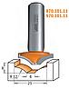 Фреза фигирейная горизонтальная CMT 25х6х8х12 мм хв.8мм (арт 970.101.11)