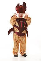 Детский карнавальный костюм для мальчика «Майский жук» 110-125 см, коричневый, фото 1