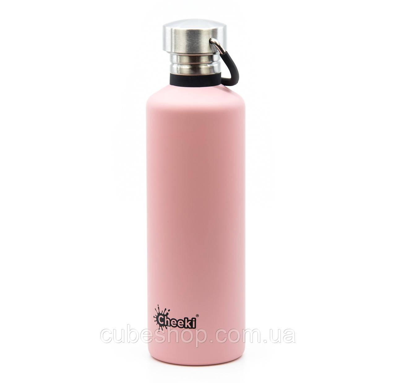 Бутылка для воды Cheeki Classic Single Wall Pink (750 мл)