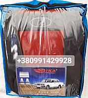 Чехлы Lada 2110 1995- sedan COPER Nika красный модельный комплект
