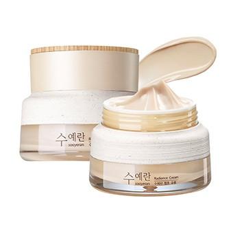 Питательный крем для яркости кожи лица The Saem Sooyeran Radiance Cream 60 мл (8806164155639)