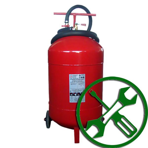 Перезарядка и ТО порошковых огнетушителей ОП-100 (ВП-100)