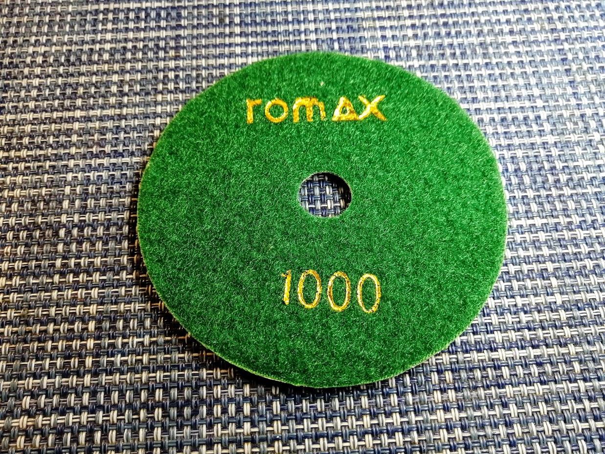 Гибкий алмазный круг (черепашка), TOMAX, Ø100 ММ, зернистость 1000