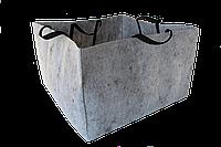 Контейнер для рослин тканинний АМТ / мешки АМТ з ручками h 45 см, d 70 см 220 л