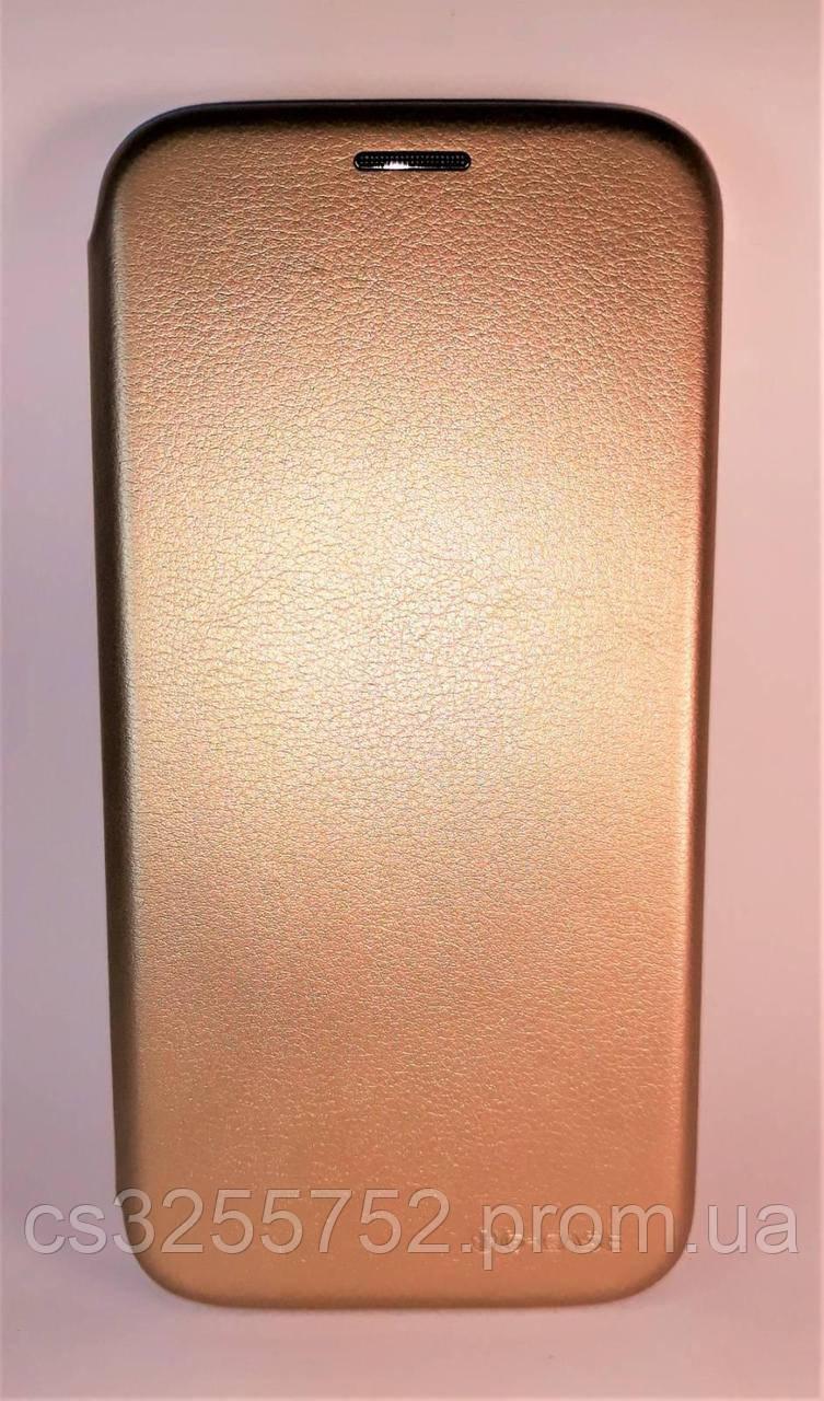 Чeхол книжка Samsung J730 gold