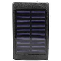 Внешний аккумулятор Power bank Solar PB-6 с солнечной панелью 6000 mAh Black
