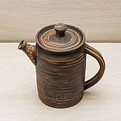 "Чайник заварочный из глины ""Цилиндр"" 1л"