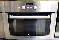 WHIRLPOOL AMW 500/1/IX Встраиваемая микроволновая печь с грилем б/у