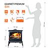 Піч опалювальна Kawmet Premium S11 8,5 kW, фото 2
