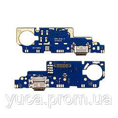 Разъём зарядки для XIAOMI Mi Max 2 (USB Type-C) на плате с микрофоном и компонентами