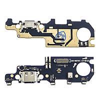 Разъём зарядки для XIAOMI Mi Max 3 (USB Type-C) на плате с микрофоном и компонентами