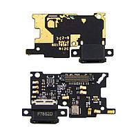 Разъём зарядки для XIAOMI Mi6 (USB Type-C) на плате с микрофоном