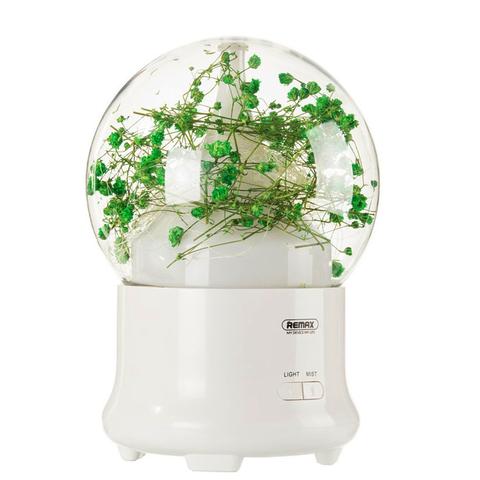 Увлажнитель воздуха (аромадиффузор) Led лампа Remax Flowers Aroma Lamp RT-A700 Gypsophila
