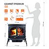 Піч опалювальна Kawmet Premium S8 13,9 kW, фото 2