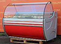 Універсальна холодильна вітрина «Cold W-15 SG-SP» 1.5 м. (Польща), мармурова стільниця, Б/в, фото 1