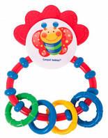 Детская погремушка-зубогрызка babyono