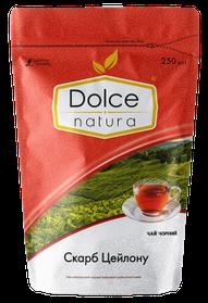 Чай цейлонский черный цельнолистовой «Сокровище Цейлона» ТМ «Dolce Natura», 250г