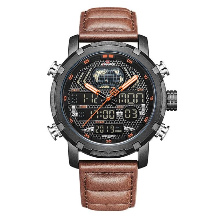 Мужские часы Naviforce 9160 (brown-black)