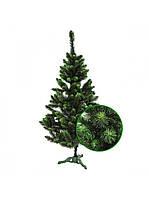 Ель искусственная зеленая Сказка ПВХ 2.5м (ЯШК-3-2.5), фото 1