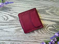 Портмоне вишиванка кольору стиглої вишні, фото 2