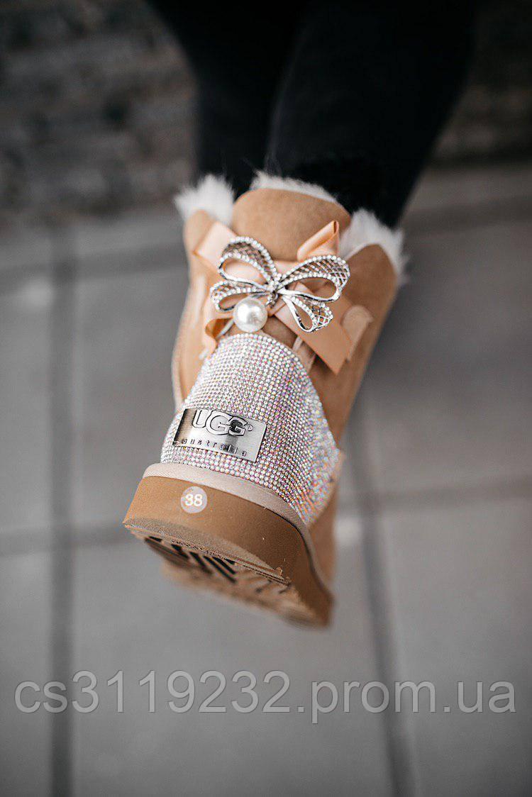 Жіночі чоботи зимові UGG W MINI BAILEY BOW II (руді)