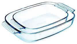 Набір форм PYREX CLASSIC для запікання 2 шт Прямокутні Скло (912S967)