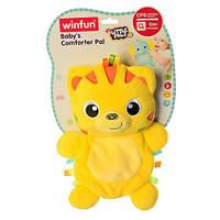 Мягкая игрушка Тигр шуршалка 0196-NI 25,5 см яркая игрушка для малышей