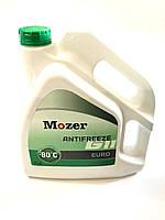 Антифриз концентрат Mozer зелений G11, -80 С, 5 кг