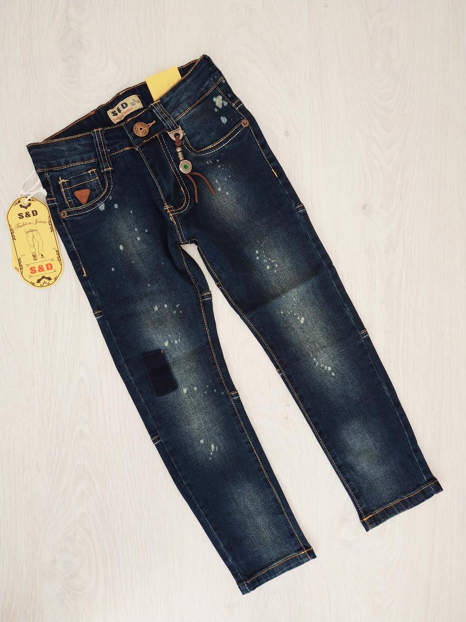 Джинсовые брюки для мальчиков, Венгрия, S&D, арт. LY-361