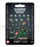 Вархаммер 40000 Набор улучшений Примарис Саламандры (Warhammer 40000: Salamanders Primaris Upgrades and Transfers ) настольная игра