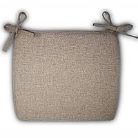 Подушка на кресло Кедр на Ливане плетенное серия Шотландия 52x44x5 см Бежевая (1063)