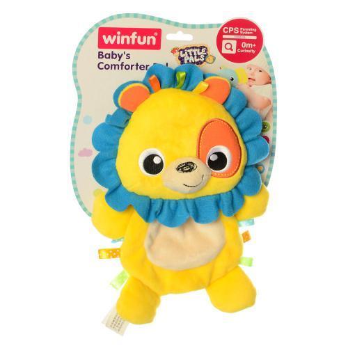 Плюшевый Лев шуршалка 0198-NI игрушка для малышей 27 см