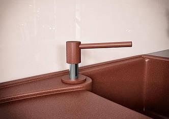 Дозатор для кухонной мойки Kaher RV 10 коричневый