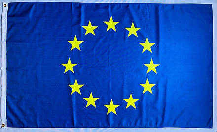 Флаг Евросоюза (Полиэстер) - (0.9м*1.5м), фото 2
