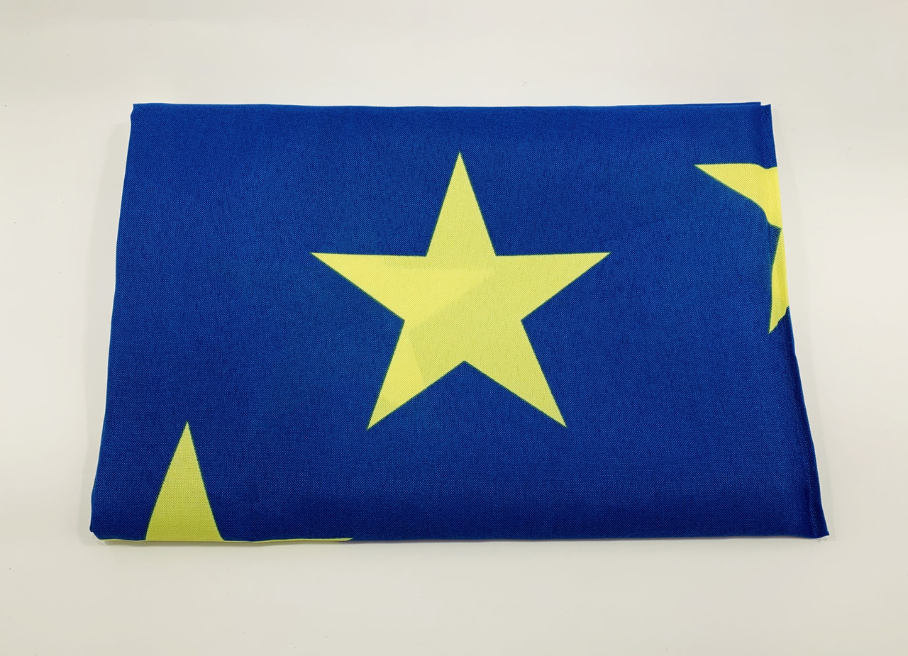 Прапор ЄС - 0.9м*1.5м - Поліестер