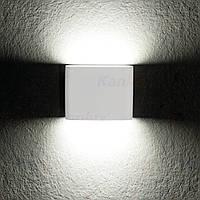 Фасадный светильник Kanlux GARTO LED EL 8W-W белый, IP54, фото 1