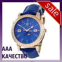 Часы наручные мужские ААА класса Patek Philippe Grand Complications 5160 Sky Moon Blue-Gold-Blue