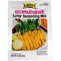 Приправа тайская к шашлыку Сатай LOBO 35г