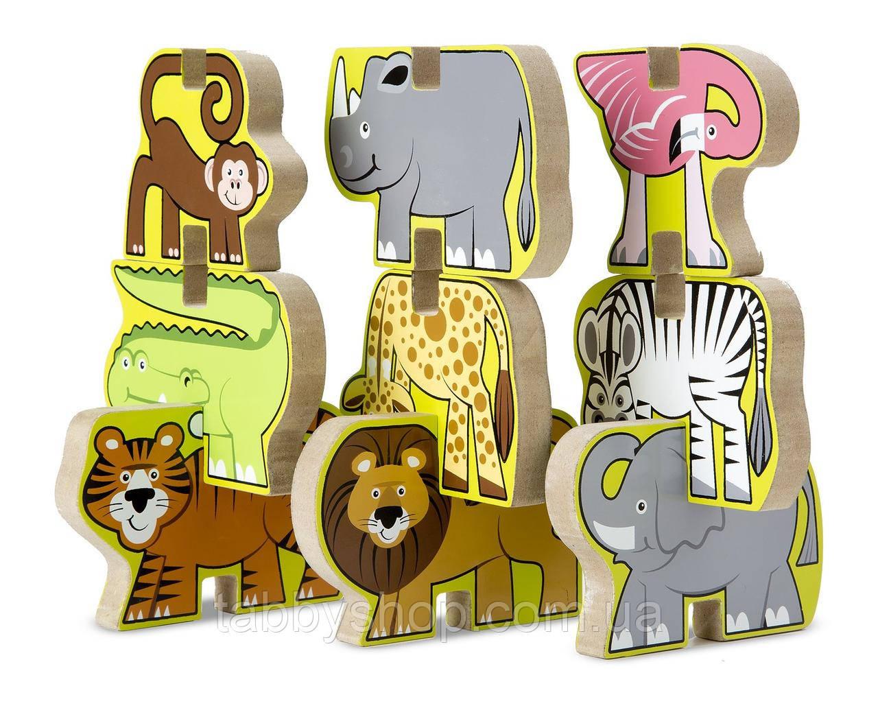 Деревянная головоломка-укладка Melissa & Doug Сафари