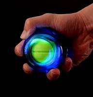 Кистевой ручной тренажер для запястья светящийся в темноте