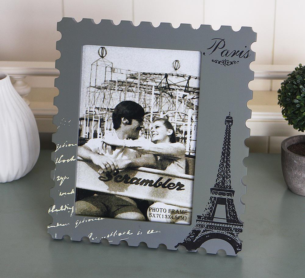 Фоторамка почтовая марка  Париж