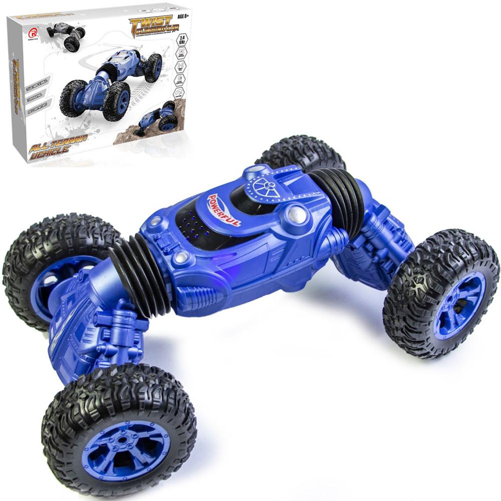 Багги трансформер на радиоуправлении Twist Climbing Car 4WD Dark Blue (1790854337)