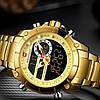 Мужские часы Naviforce 9163 (gold-black), фото 3