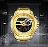 Мужские часы Naviforce 9163 (gold-black), фото 7