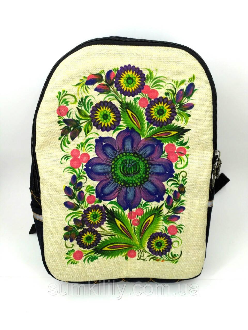 Джинсовый рюкзак Загадка