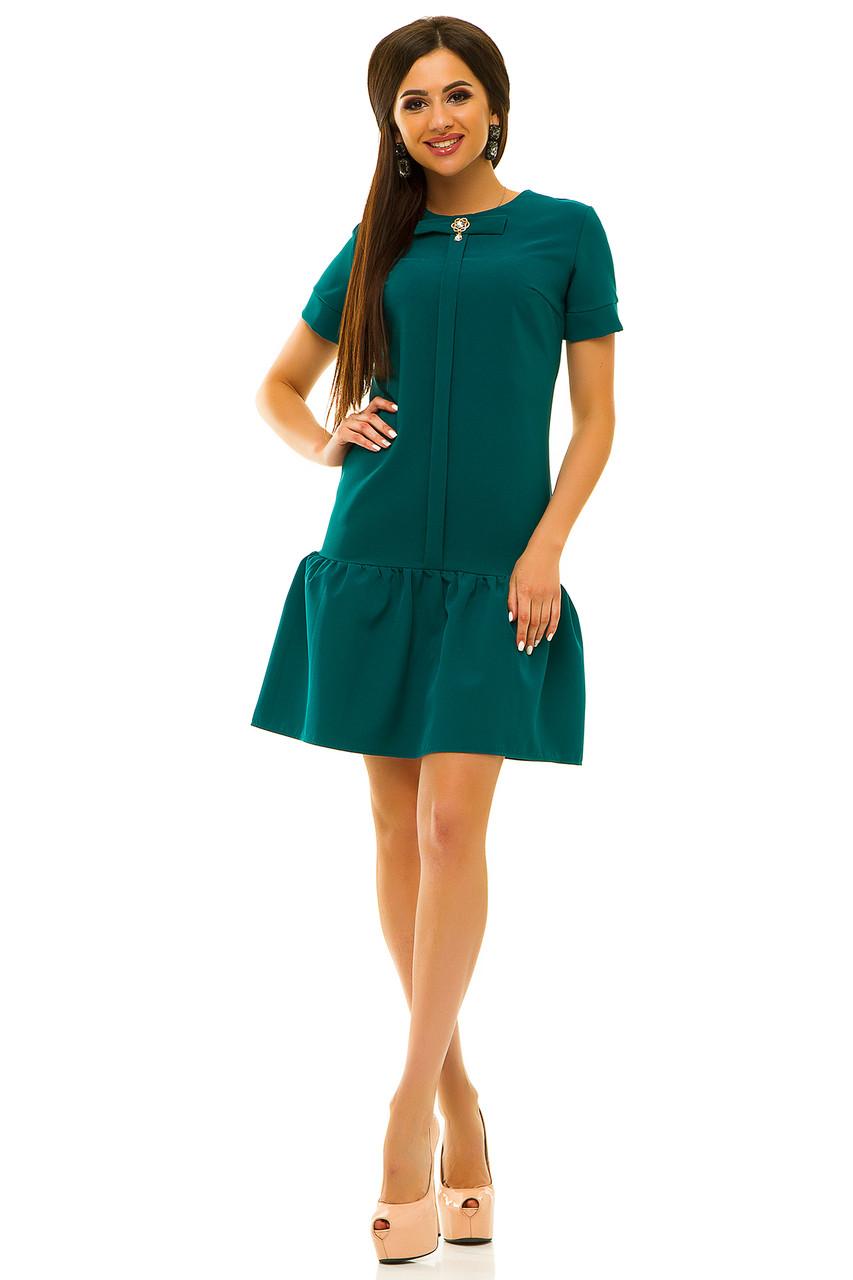 Платье 236 зеленое размер 42
