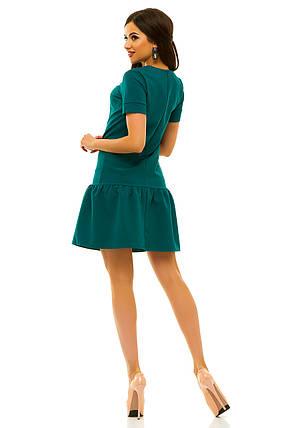 Платье 236 зеленое размер 42, фото 2