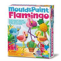 Набор для творчества 4M Лепные фламинго (00-04736)