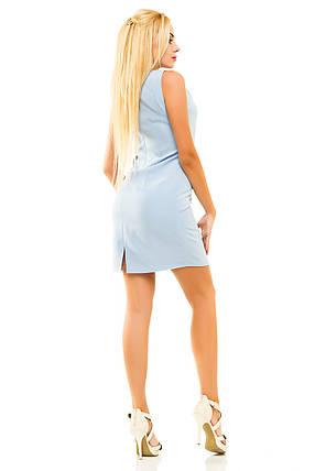 Платье 336 голубое 44, фото 2